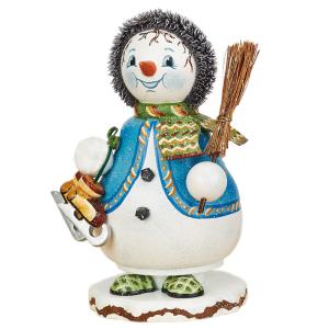 Wichtel-Schneeflöckchens-Eiskufen