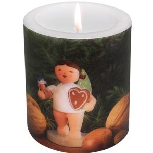 Kerze-Lebkuchenengel