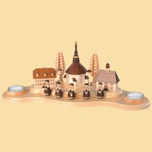 Seiffener-Dorf-groß-Natur-Teelichter